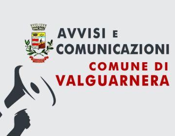 Emergenza coronavirus: Donazioni da parte dei cittadini mediante versamenti sul cc presso  la Tesoreria Comunale Unicredit-Agenzia di Valguarnera.